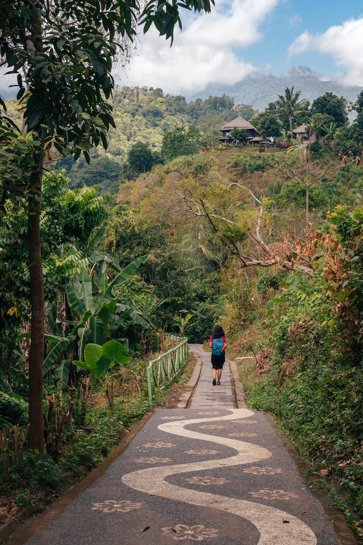 The route to Sendang Gile and Tiu Kelep waterfall begins here!