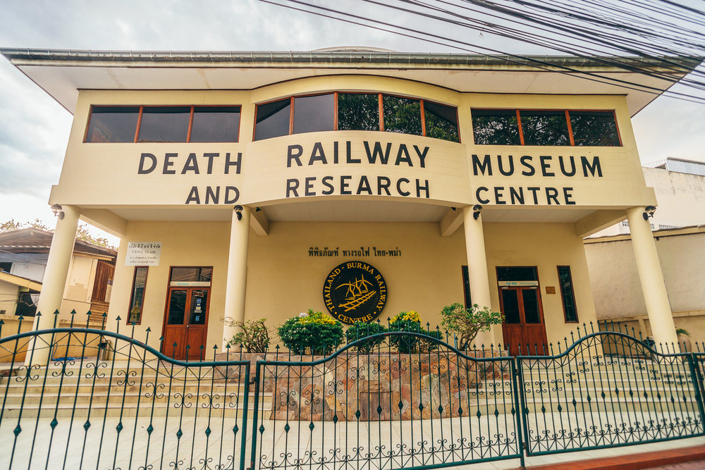 This museum is an integral part of the entire experience in Kanchanaburi, recounting the story of the POWs during the construction of the Thailand-Burma Railway in unique and immersive ways.