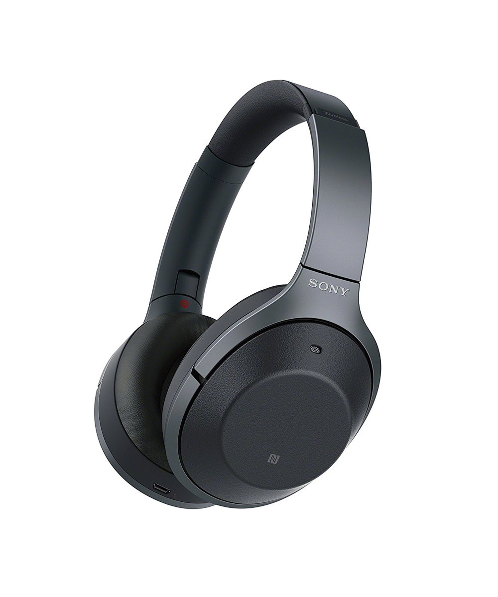 Sony Noise-Cancelling Headphones (pricier) -