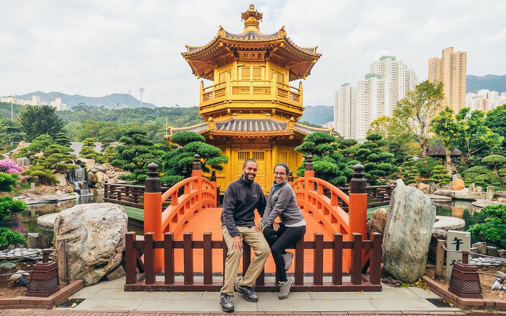 Hong Kong is just as hectic and stimulating as you imagine it to be. Even after having spent 7 months in Southeast Asia, the 3 days we spent in Hong Kong felt like we had been transported to another world. This was taken at Nan Lian Garden, a small respite in the middle of the big city.