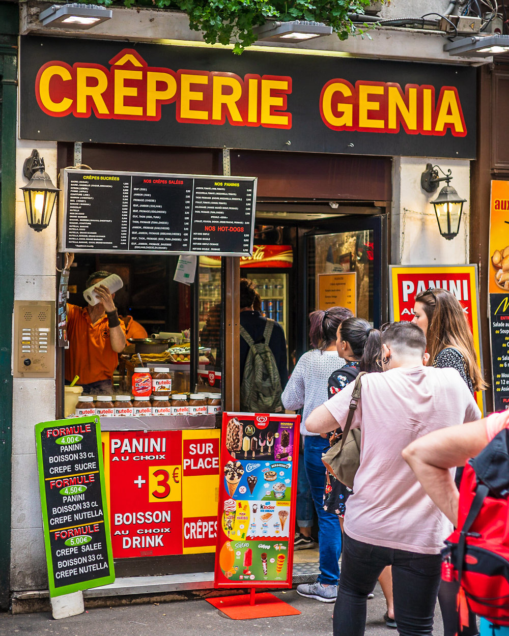 Creperie Genia in Paris