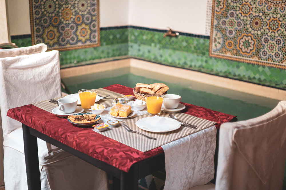 Manissa Riad Breakfast, Marrakesh