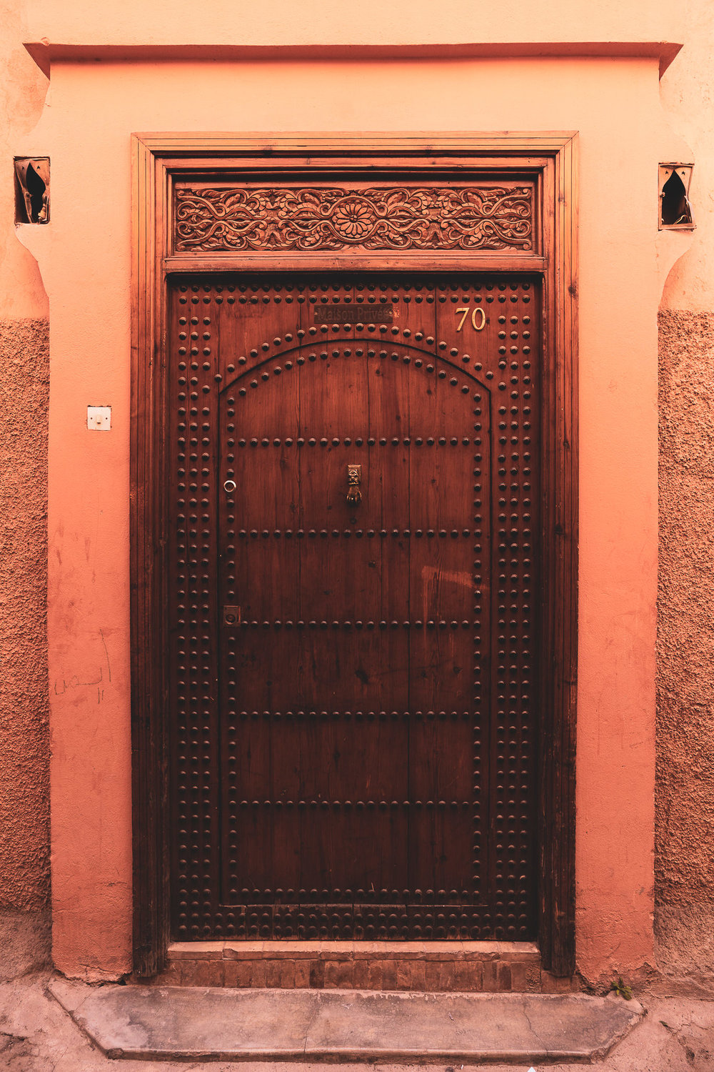 Marrakech ornate door #2