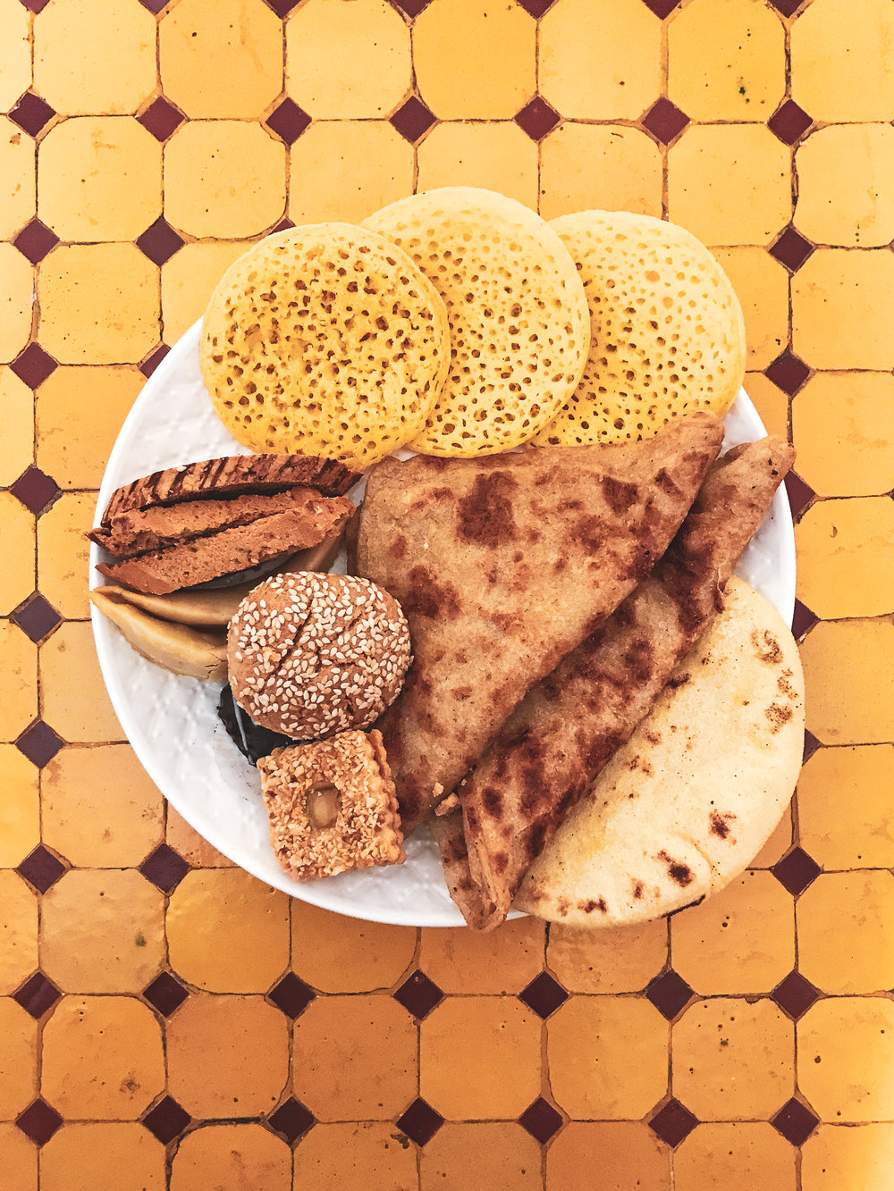 Moroccan desserts/pastries for breakfast.jpg