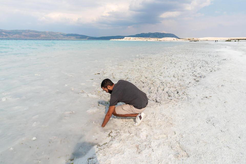 Lake Salda Quicksand