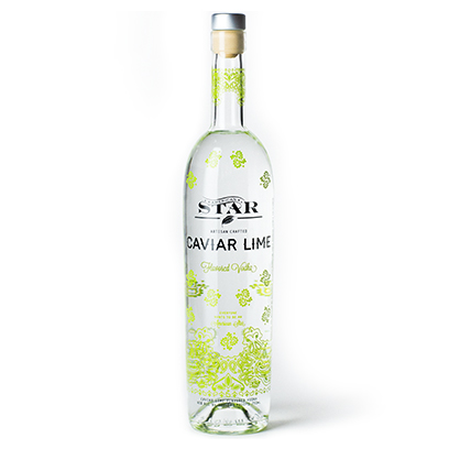 AMERICAN STAR   CAVIAR LIME VODKA