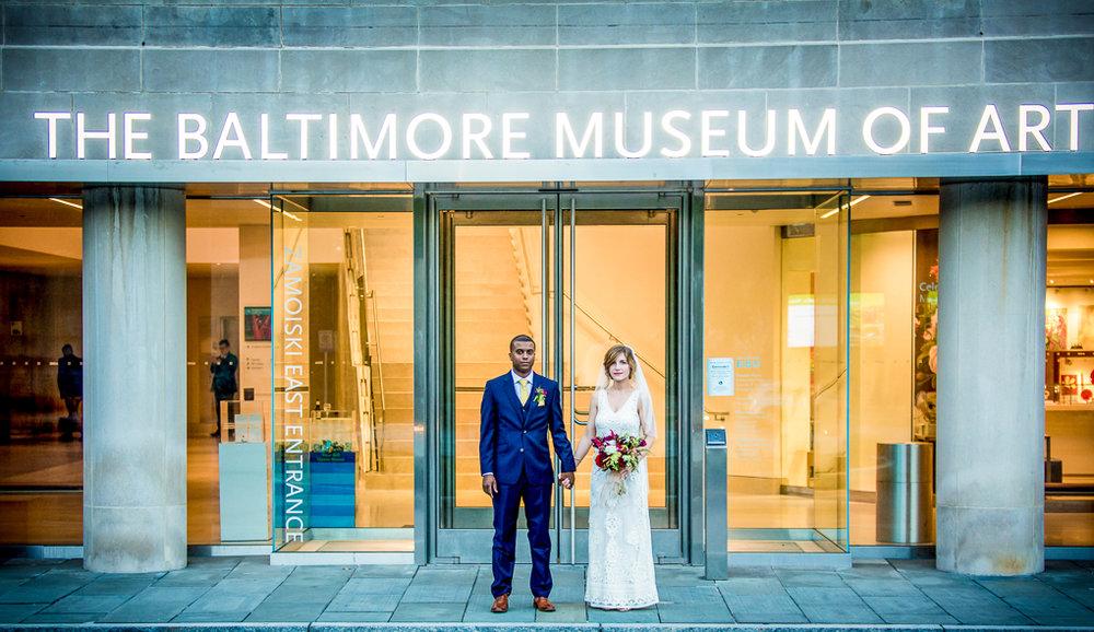 modern baltimore wedding photography