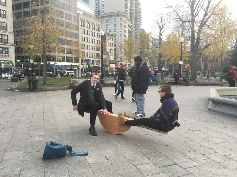 Playing in public