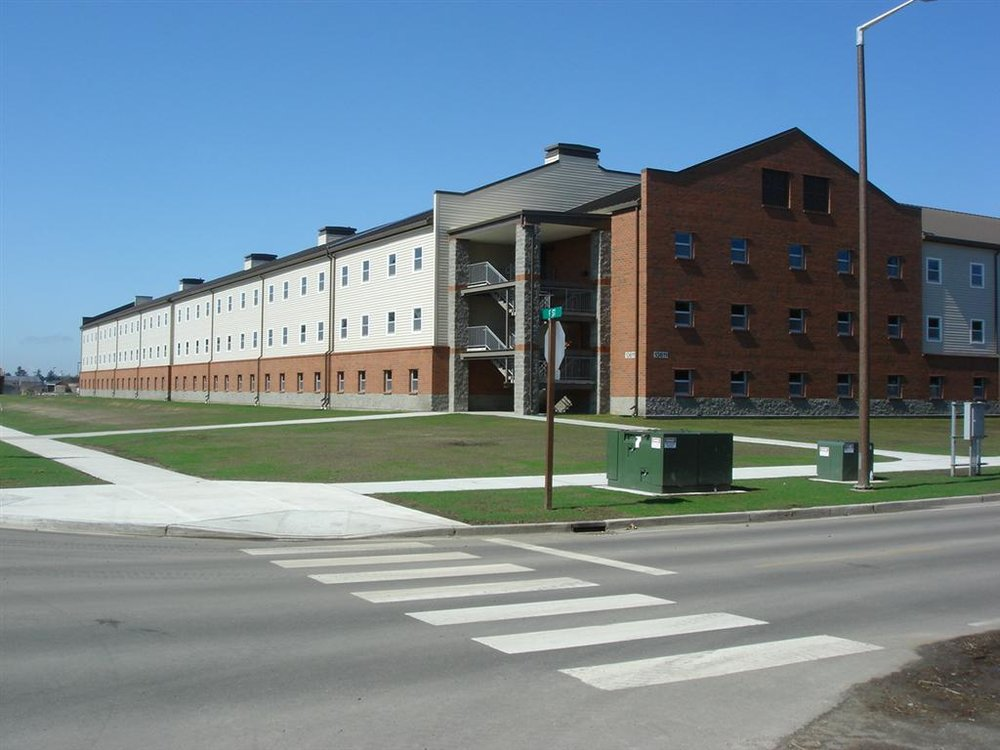 Fort Lewis Barracks