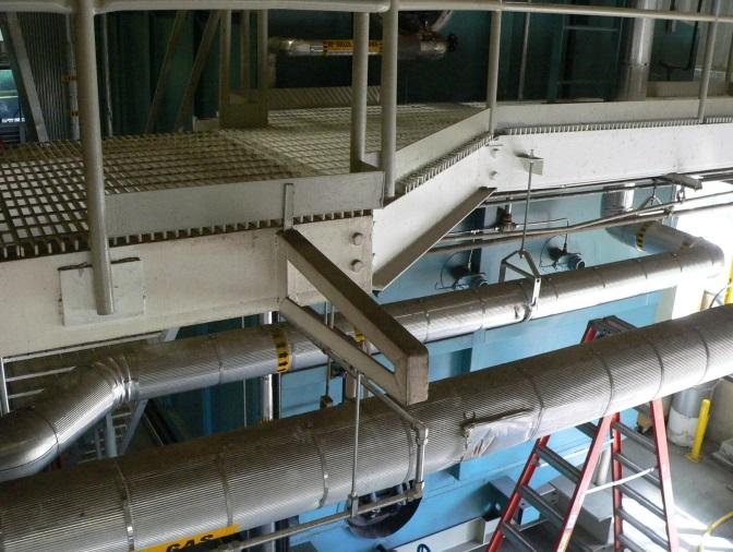 Boeing Mezzanine Boiler Building