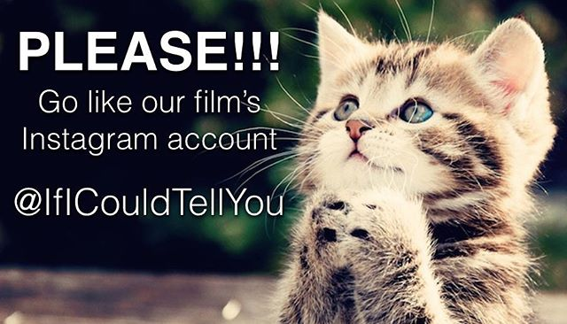 If you like the Clyde Brothers, then like (AND FOLLOW) our first born child If I Could Tell You's Instagram account @ificouldtellyou Would mean a lot to us, and there's a lot of cool media to see. #film #filmaccount #instagram #share #follow #please