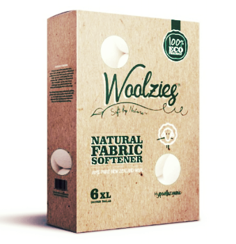Woolzies Natural Fabric Softener Wool Dryer Balls