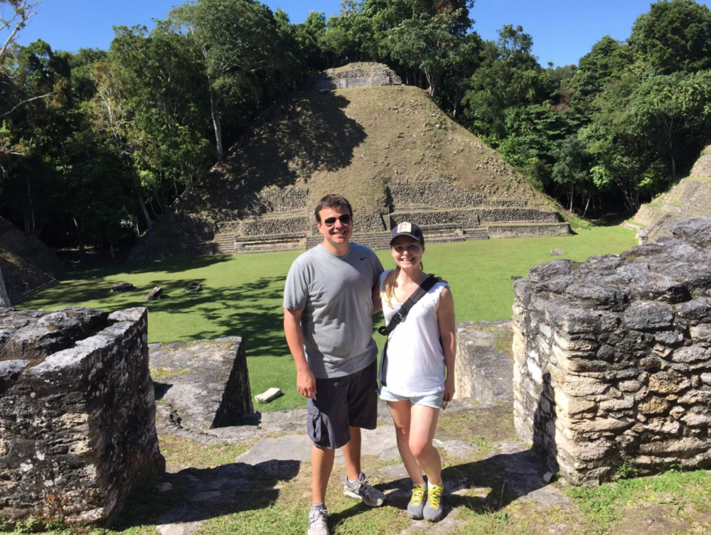 Me and my hubs at Caracol.