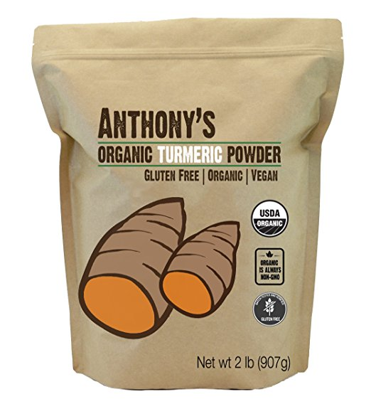 <strong>ANTHONY'S</strong><br>Organic Turmeric Powder