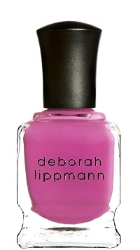 Deborah Lippman's 5-Free non-toxic nail lacquer in  Whip It  (real good)