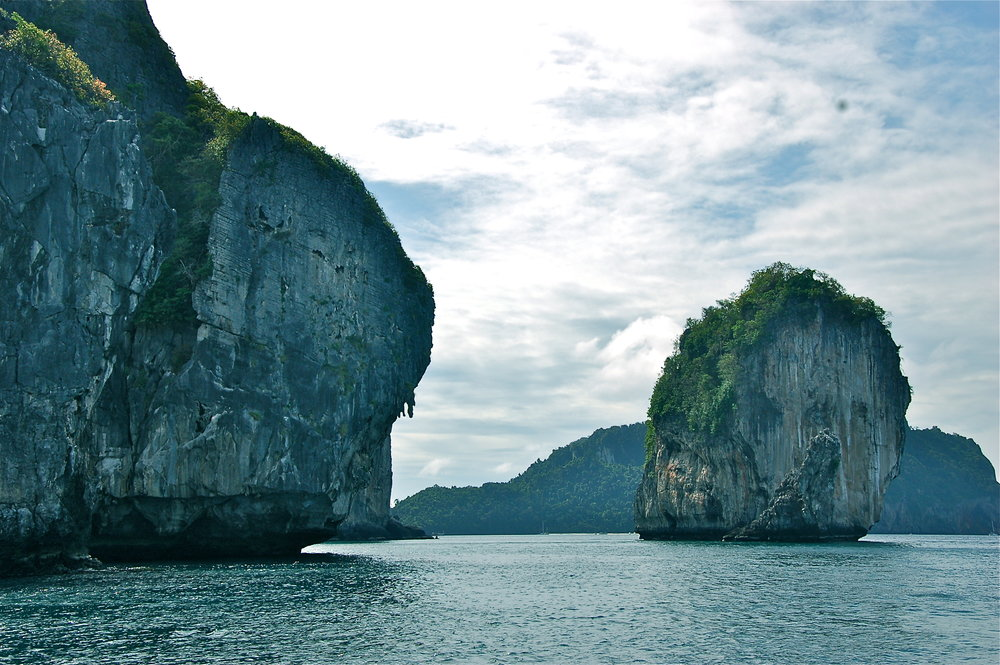 Day four of your 12-day Thailand Itinerary in Krabi features this view...