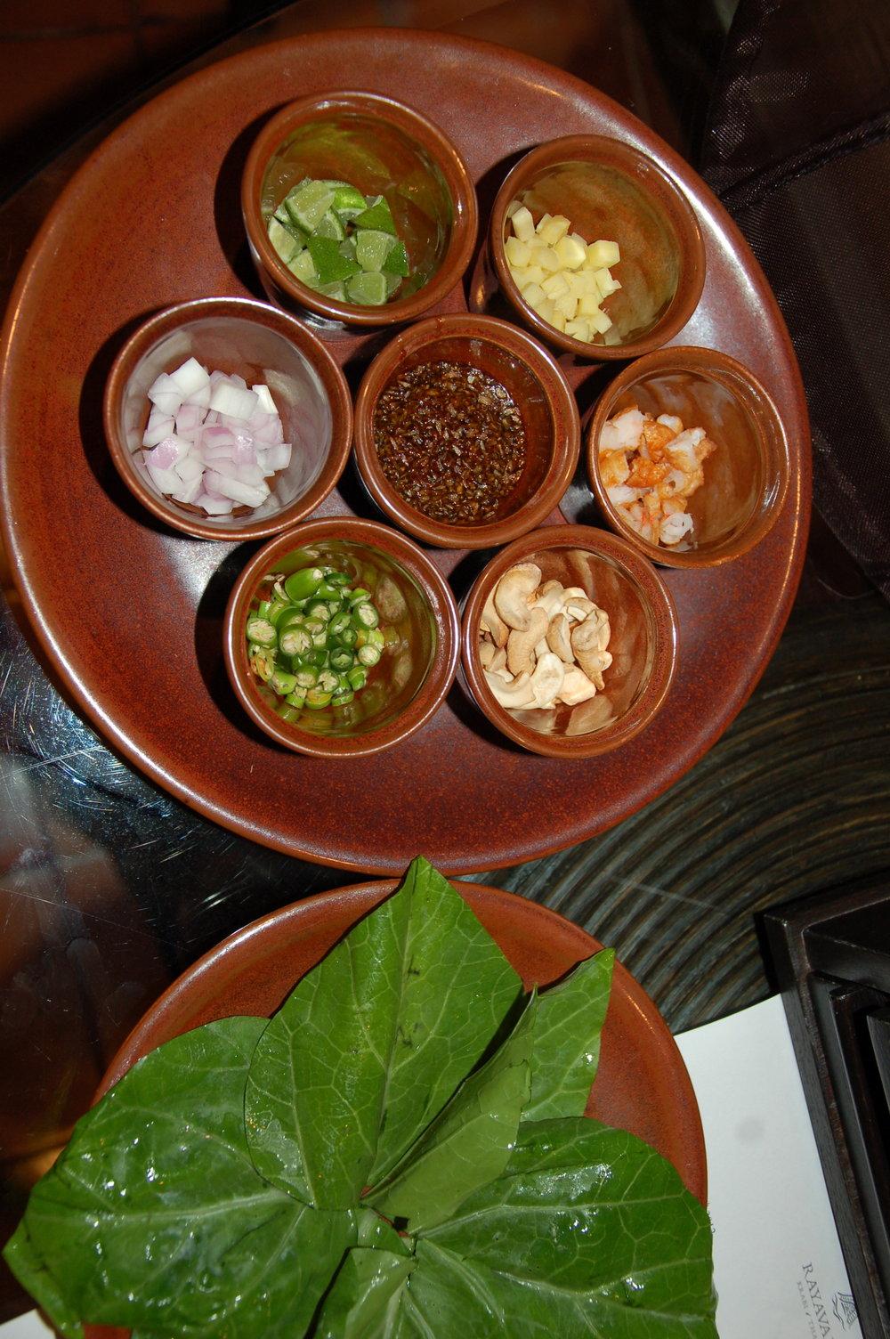 Rayavadee's  miang kana  snacker