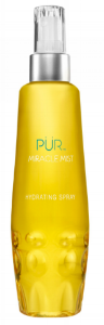 PUR Miracle Mist Hydrating Spray  helps keep your makeup and skin looking fresh.