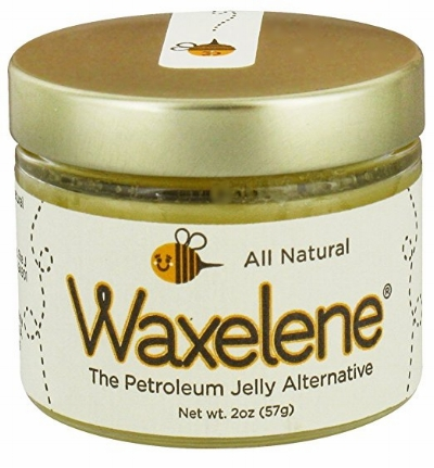 Waxelene in a glass jar comes in  2 oz. and 9 oz. sizes .