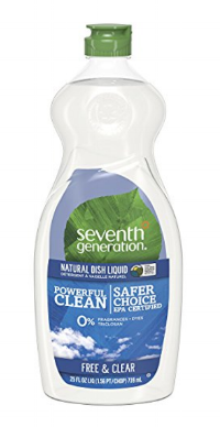 This EPA Safer Choice Certified and USDA Certified 95% Biobased Product  uses plant-based ingredients and 0% fragrances, dyes, phosphates or triclosan.