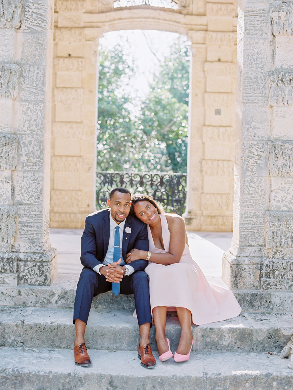 JAMES + LYDIA || VIZCAYA MUSEUM & GARDENS ENGAGEMENT SHOOT || MIAMI, FL