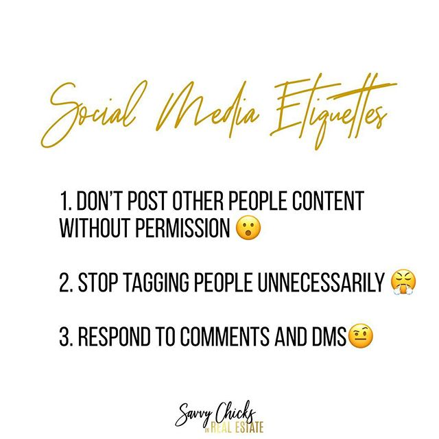 The same rules in life applies on social media as well. Treat people the way you want to be treated. Are you guilty? 😆 www.savvychicksinrealestate.com . . . . . . . . . . . . . . #realtors #realtorlife #socialmediawealthstrategist  #socialmediaforrealtors #chicagorealtor #realtormom #socialmediatraining #chicagorealtor #womeninrealestate  #realestatecoach #realestateconsultant #brandingtips #exprealty #womenrealtors #kellerwilliamsrealty #socialmediastrategy #googlealerts #remaxagent #newagent #realestatecareer #canva #savvychicksinrealestate #ladiesinrealestate #womenofrealestate #socialmediagraphics #leadgeneration