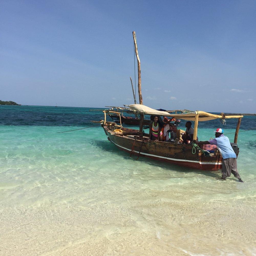 Traditional Zanzibar Dhow