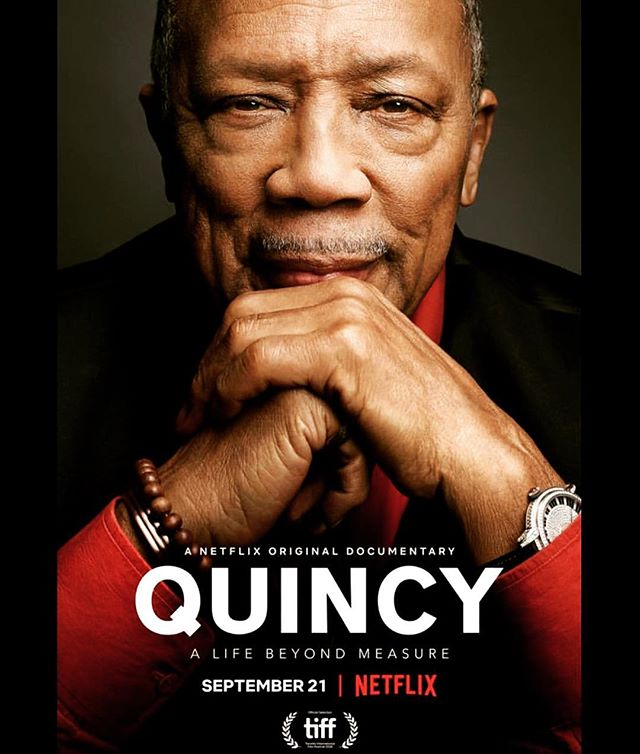 @quincydjones thank you for all the #music! A truly #inspiring #story and #life. So much #love for the #grind. Big ups @rashidajones for an amazing #direction