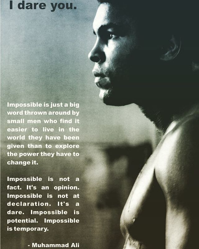 The reason I started learning the art of boxing was to really learn the #mindset of pushing yourself both mentally and physically. The one #athlete that had tremendous #impact on my #life other than #michaeljordan #jordan is #goat #ali #muhammadali. Speaking things into #existence has such deep and profound impact especially when you truly believe in it. #mondaymotivation