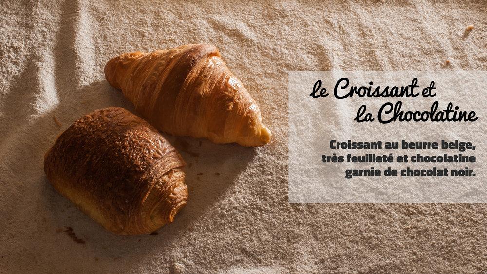 le Croissant et la Chocolatine