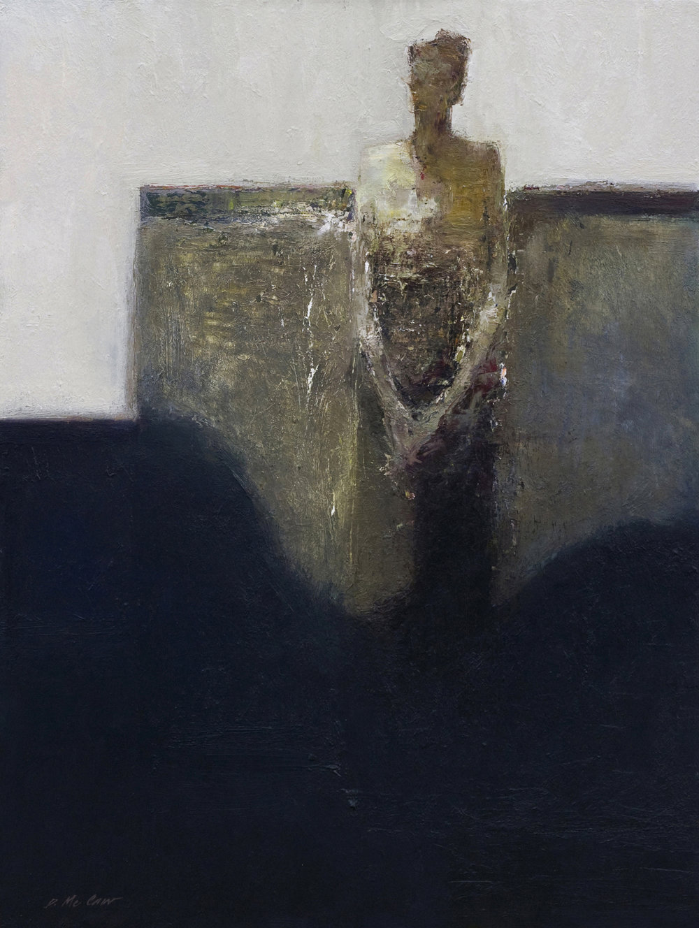 Solitude 40x30 in. Oil on Board