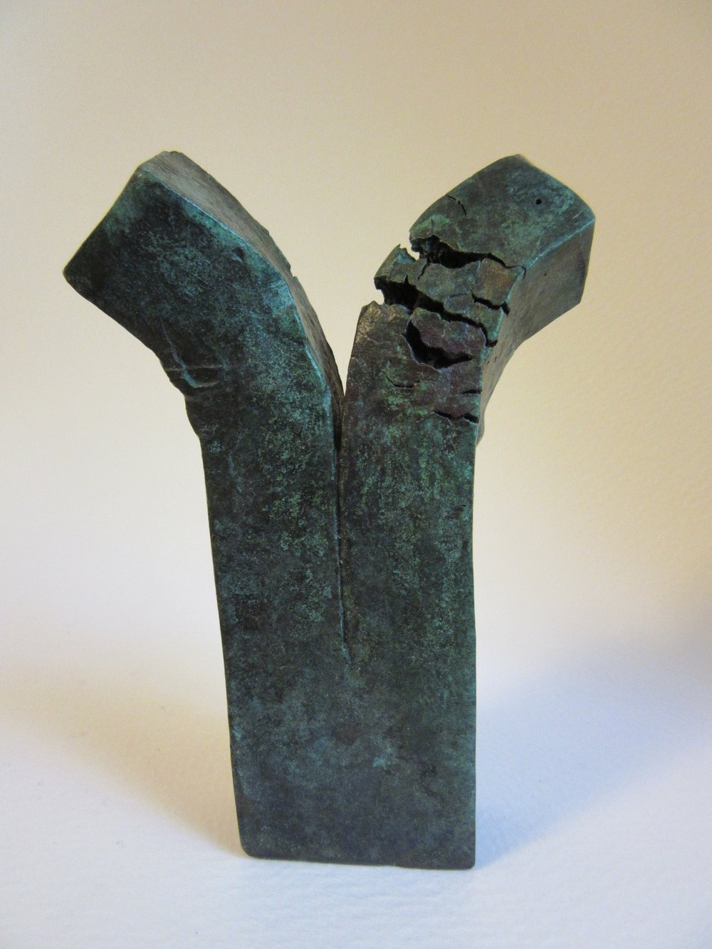 "Untitled , bronze 4.5"" x 2.5"" Sold"