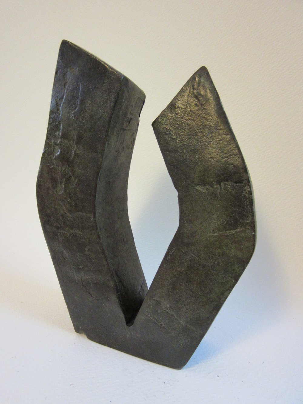 "Untitled , bronze 7"" x 5"""