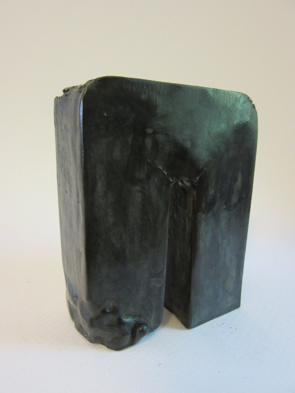 "Untitled , bronze 4.5"" x 3.5"" Sold"