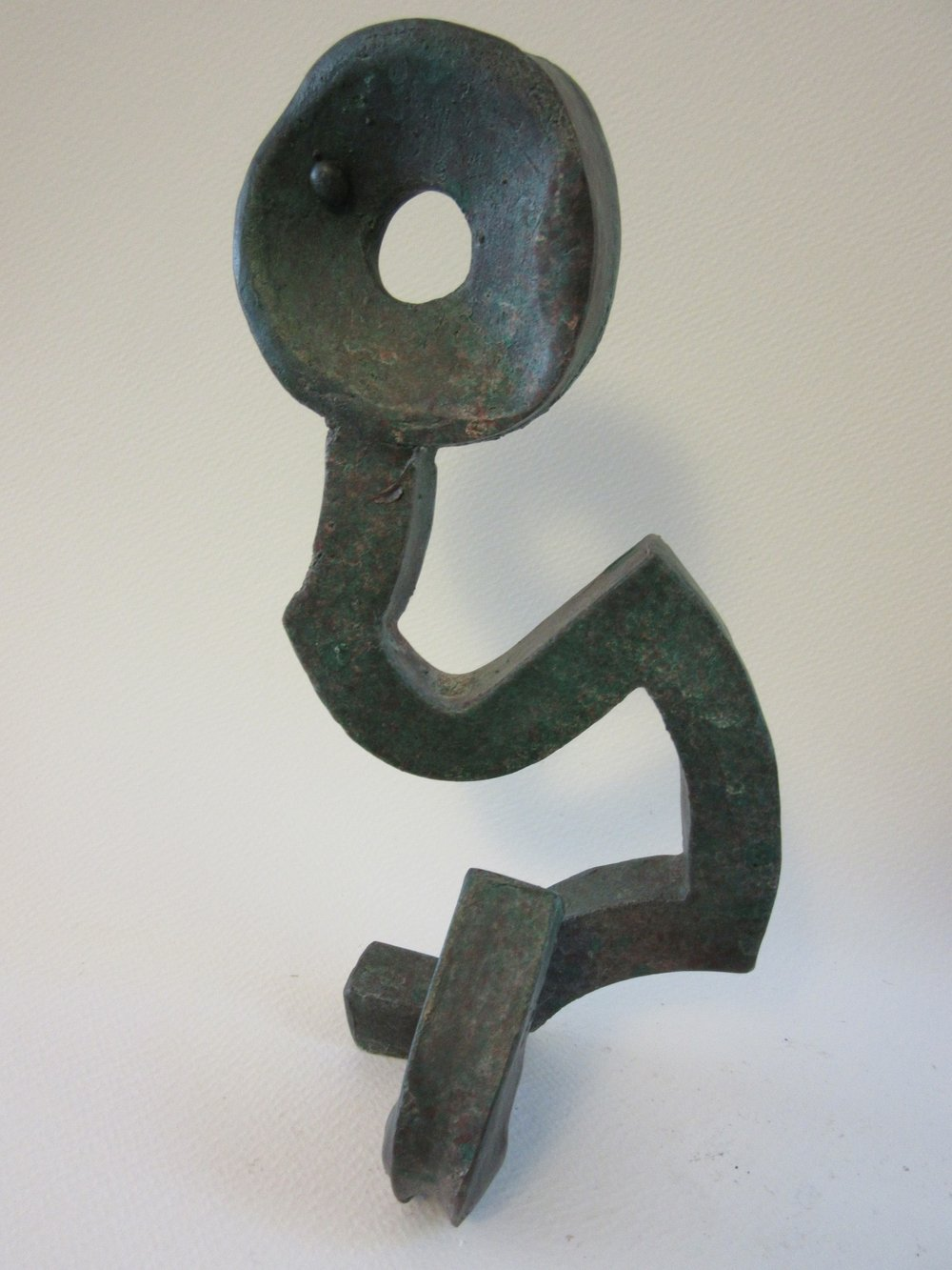 "Untitled , bronze 9"" x 4"" Gifted"
