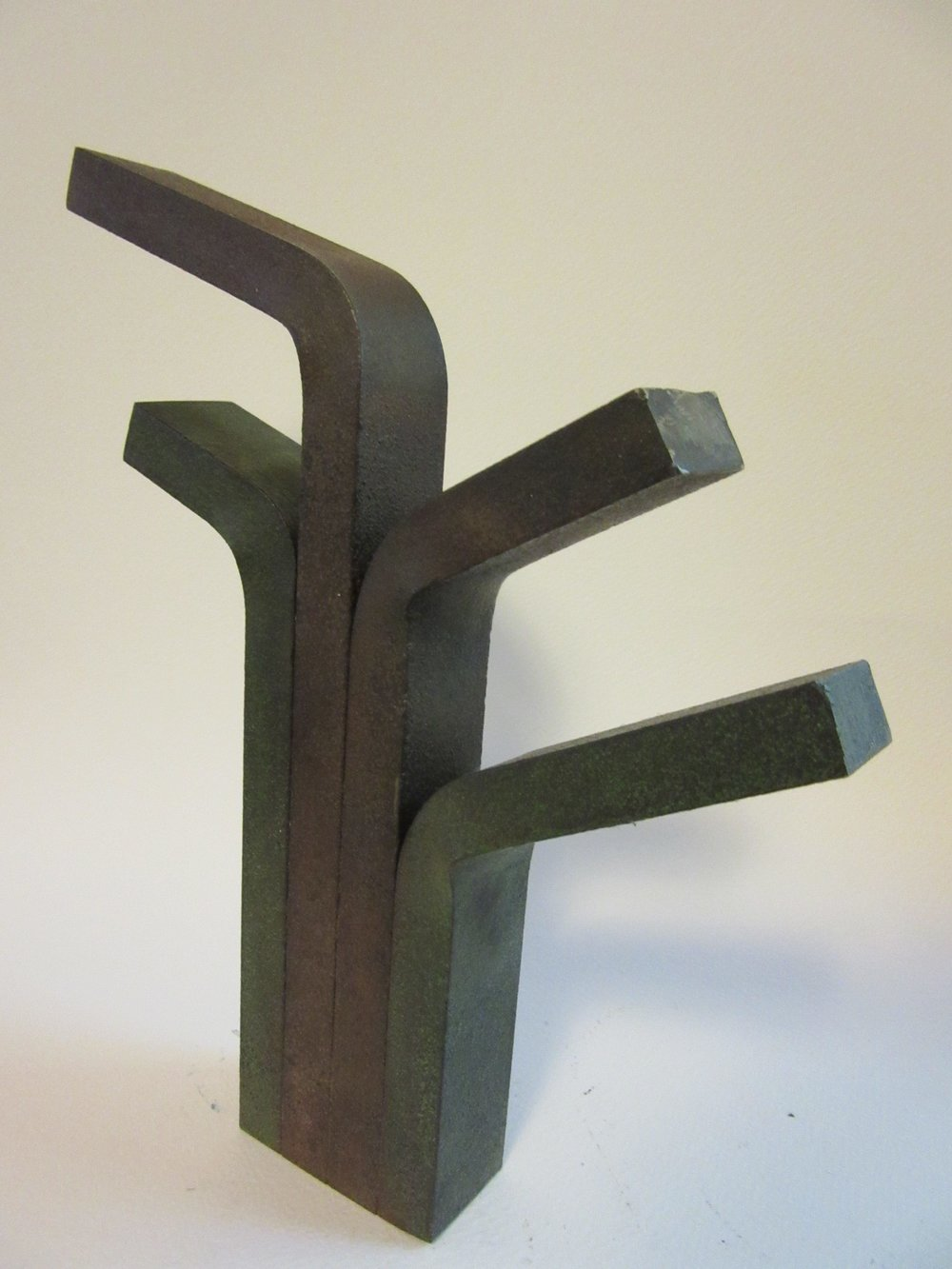 "Untitled , steel 10.25"" x 8.5"""