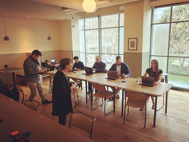 Photo and video shoot day with the @sixvertical team. The think tank has arrived in #Portland. * * * * #career #jobs #hiring #team #teams #careers #agency #sales #marketing #management #consulting #technology #ecommerce #tech #angular