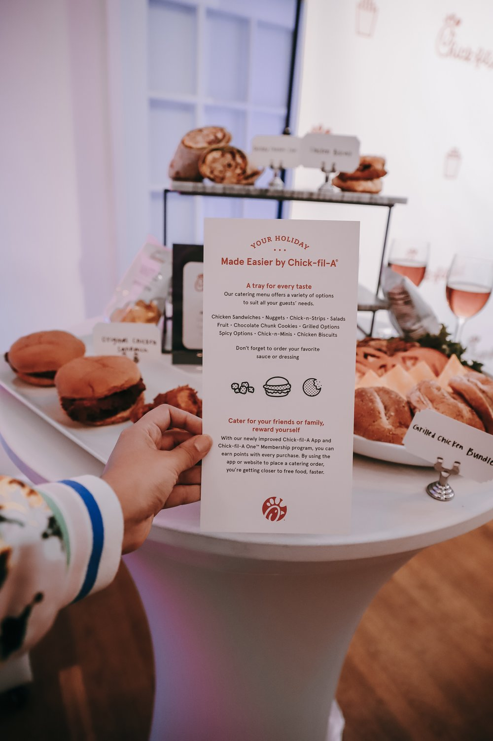 The Holiday Soiree Solution Chick Fil A Catering Marketable