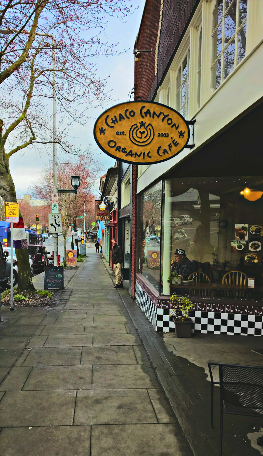 Chaco Canyon Organic Cafe in Seattle, WA | OMventure.com