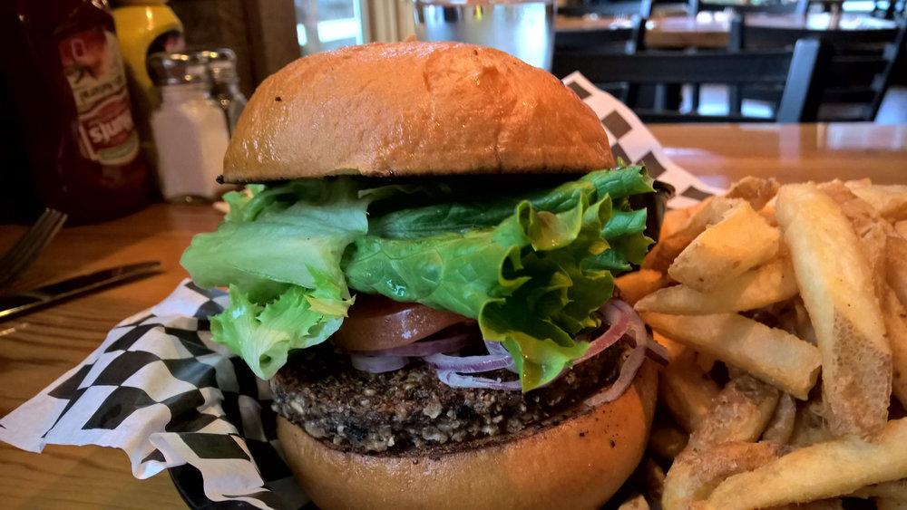 Gluten-Free Veggie Burger | OMventure.com
