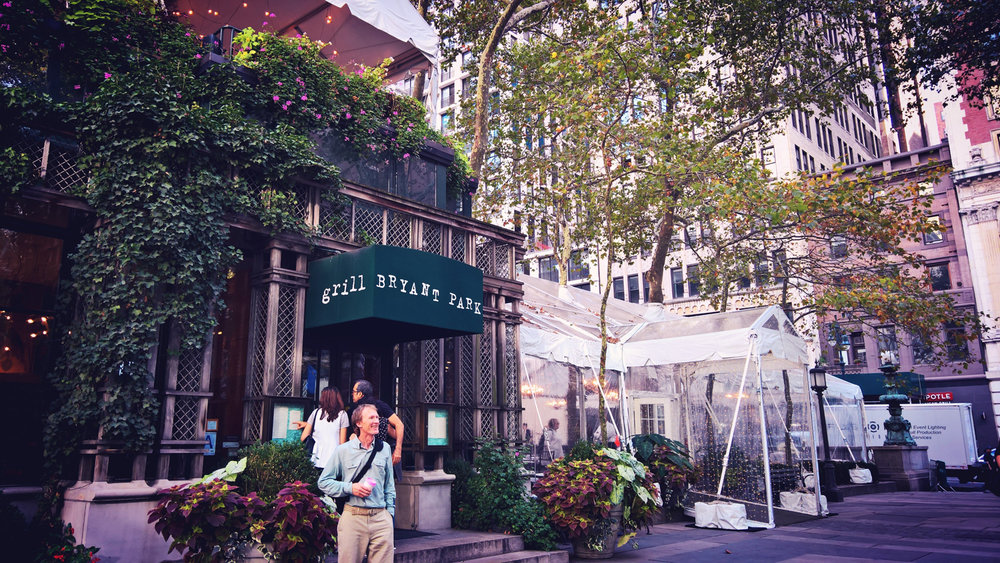 Bryant Park Grill in New York City | OMventure.com