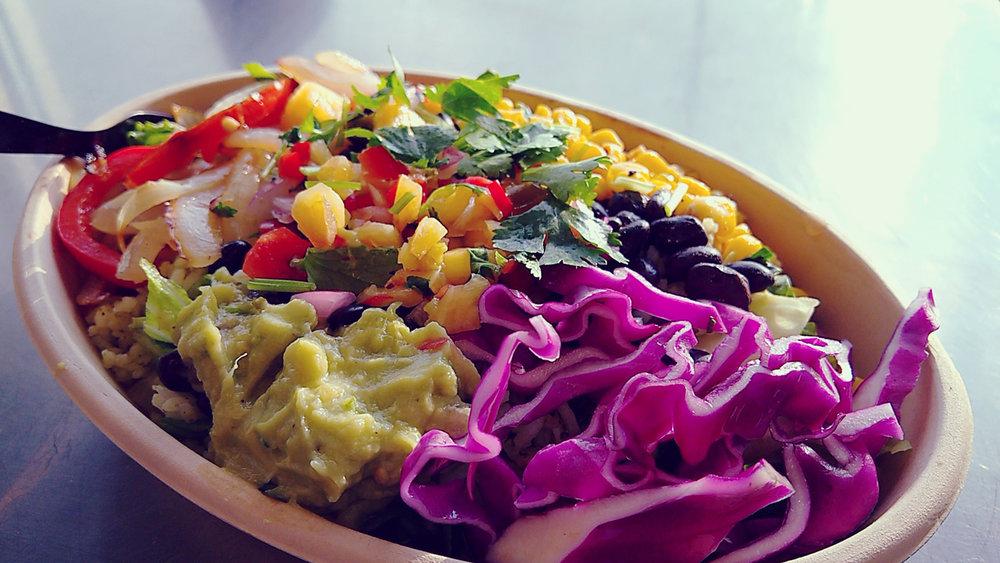 Taqueria Veggie Bowl, Whole Foods | OMventure.com