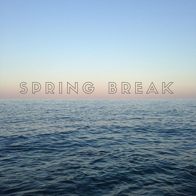 We hope you're enjoying your spring break 🌴 ☀️ 🌊 just as a reminder, we will not be having youth tomorrow night due to spring break. We miss you all so much and can't wait to see you next week!!!