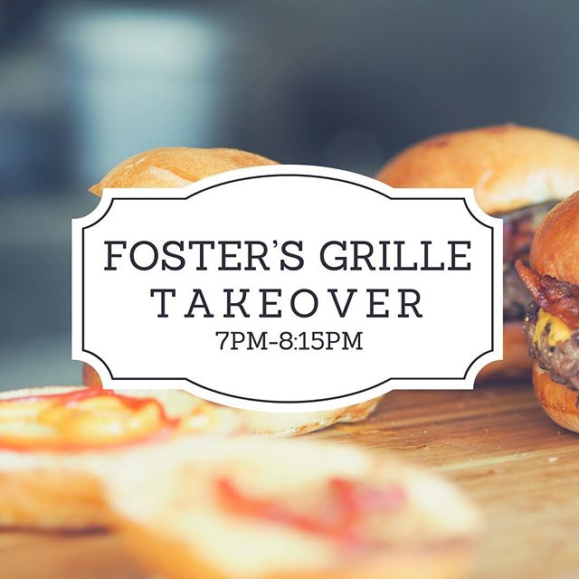 Meet us tonight at 7pm. We are taking over Foster's Grille! Bring some money for food and a big appetite!