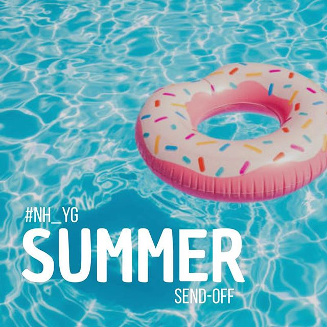 Mark your calendars. #NH_YG Annual Summer Send-Off Pool Party is Saturday, August 11th! Make plans to be there!!!