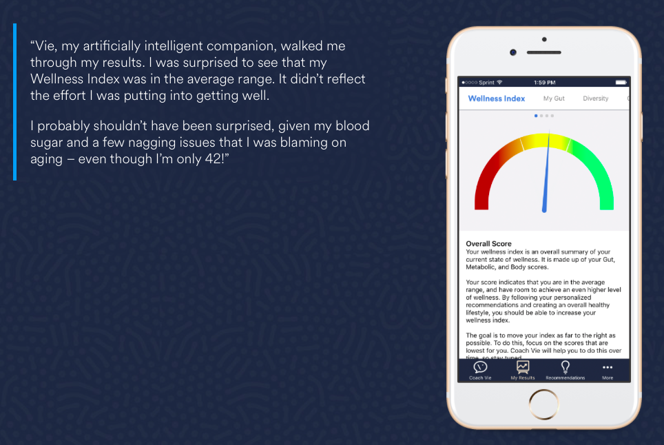Comprehensive test results on a customized app.
