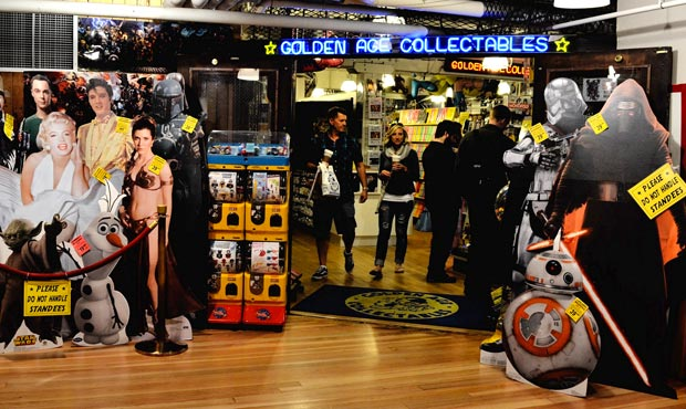 Golden Age Collectibles in Seattle's Pike Place Market. (Public Domain)