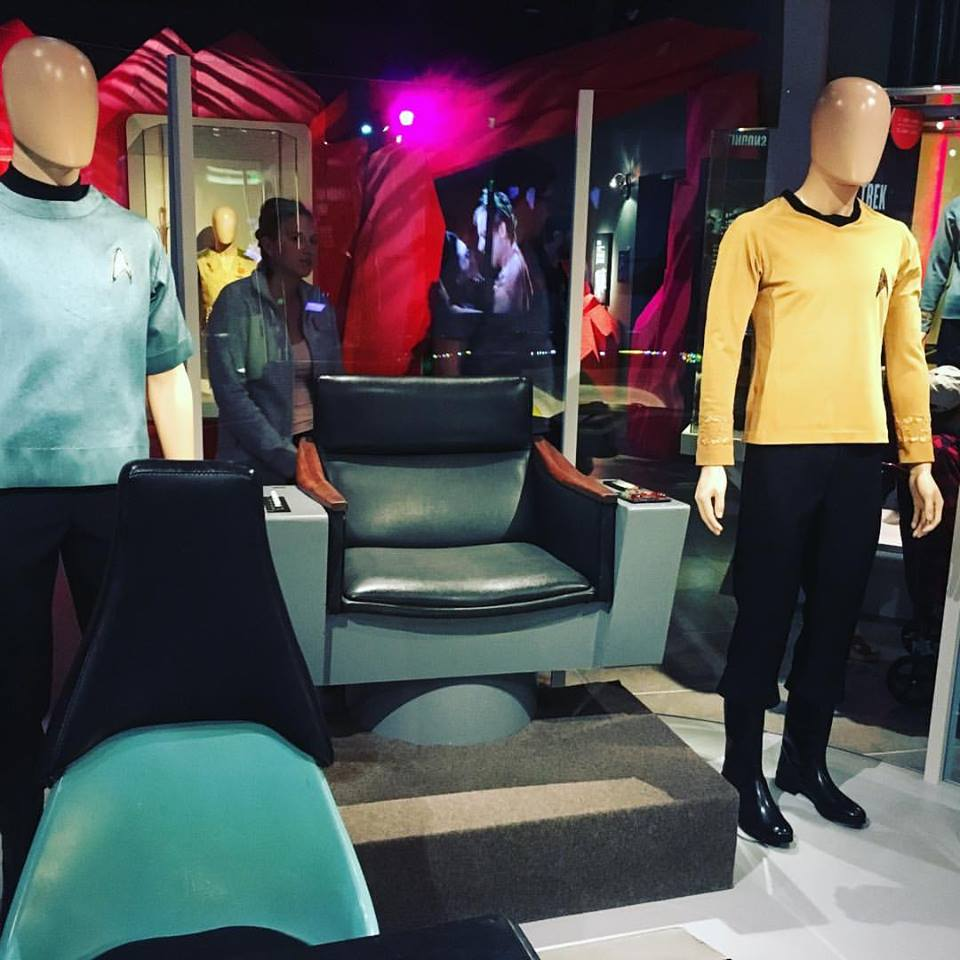 The Star Trek exhibit at Seattle's MoPop. (Dyer Oxley, NW NERD)
