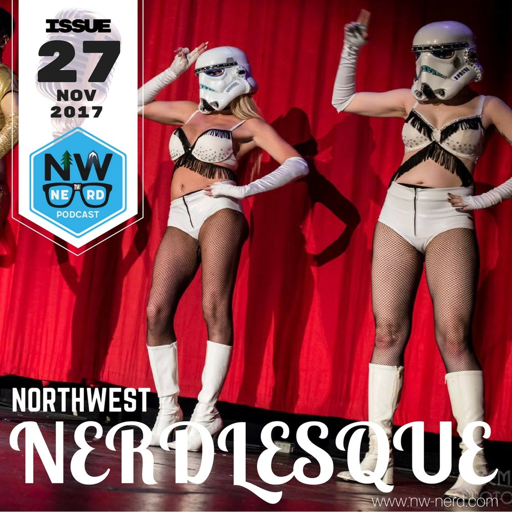 Vancouver BC's Geekenders perform Star Wars burlesque. (Courtesy of the Geekenders)