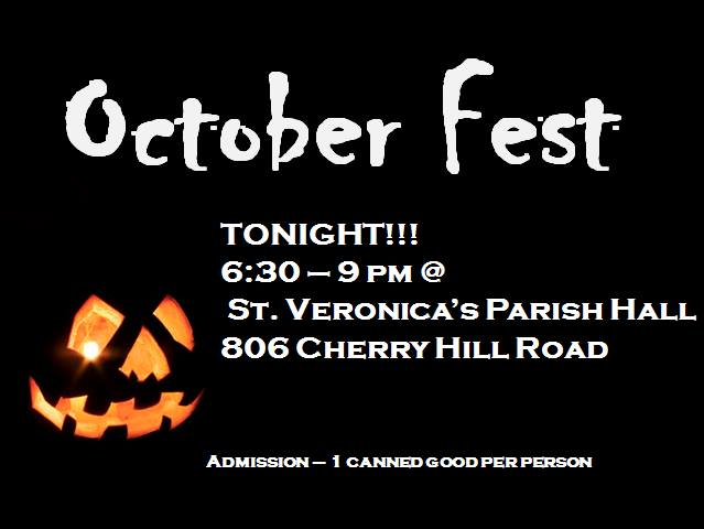 Octoberfest - An alternative to Trick-Or-Treating, this party has games, candy, costume contests, pizza, and local hip hop artists, radio personalities, and DJs.